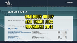 chalhoub group jobs november 2014