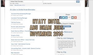 hyatt hotel abu dhabi jobs november 2014