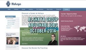 alshaya abu dhabi jobs oct 2014