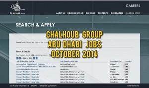 chalhoub abu dhabi jobs