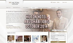 hilton hotel abu dhabi careers 2014