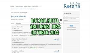 rotana hotel careers abu dhabi