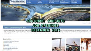 abu dhabi airports jobs december 2014