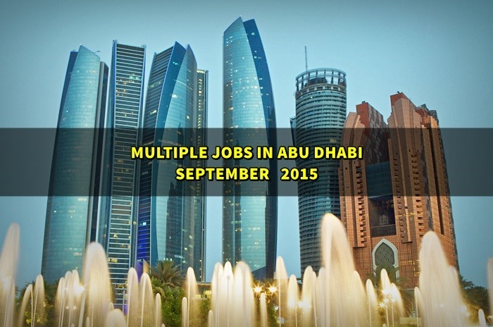 abu dhabi jobs september 2015