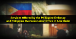Philippine Embassy in Abu Dhabi and Overseas Labor Office