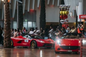 UAEs first ever Ferrari Cavalcade