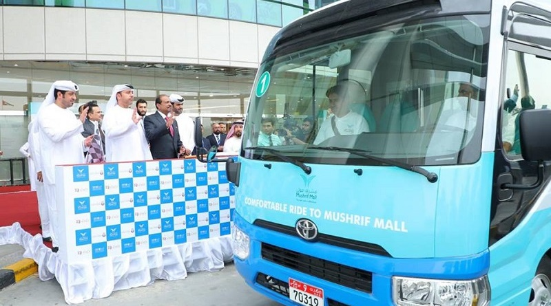 FREE Bus Rides to Mushrif Mall in Abu Dhabi 1