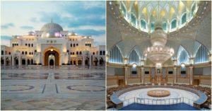 Visit Qasr Al watan a Grand Palace in Abu Dhabi 2