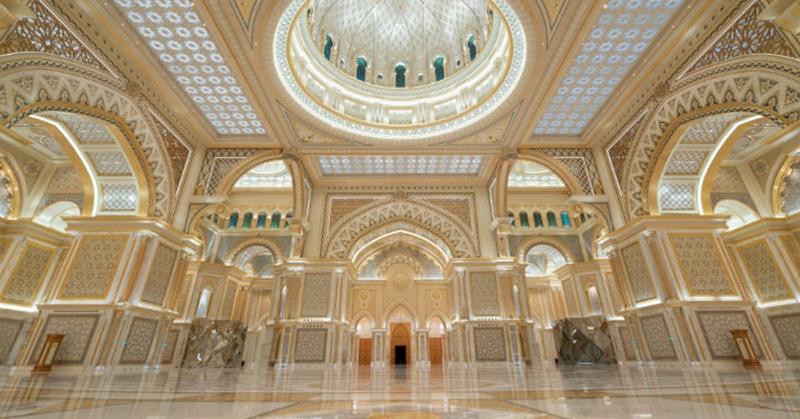 Visit Qasr Al watan a Grand Palace in Abu Dhabi 5
