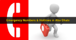 Emergency Numbers & Hotlines in Abu Dhabi