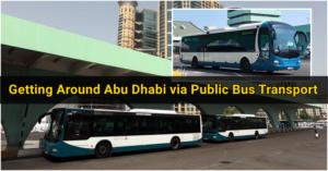 Getting Around Abu Dhabi via Public Bus Transport