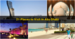 21 Places to Visit in Abu Dhabi
