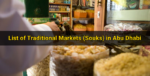 List of Traditional Markets (Souks) in Abu Dhabi