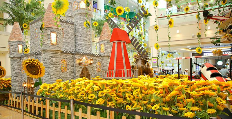 Sunflowers exhibit