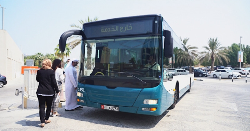 Free Wi-Fi for Public Buses in Abu Dhabi Launched
