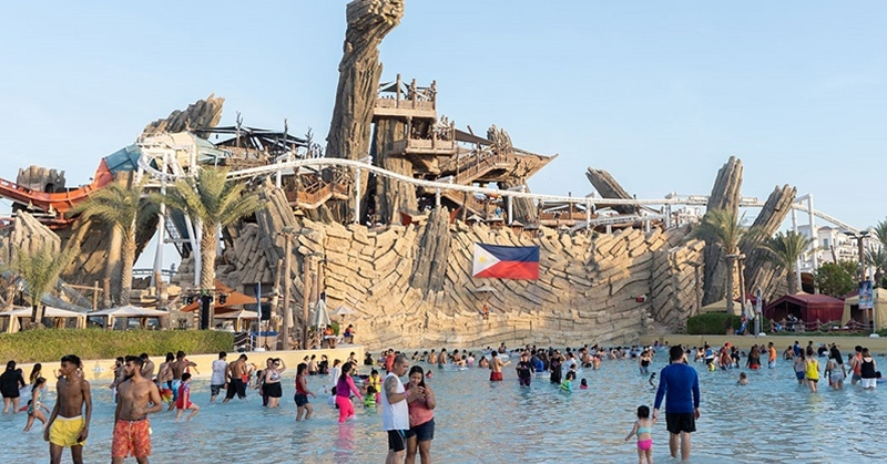55 AED Entry to Yas Waterworld for Kabayan Beach Fiesta on 4 October 2019
