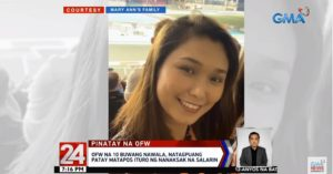 Missing OFW for 10 Months Found Dead in Abu Dhabi – DOLE